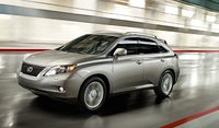 2011 Lexus RX 350, front three quarter view , exterior, manufacturer