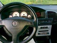 2003 Opel Zafira, prietaisu skydelis, interior