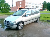 2003 Opel Zafira, bendras vaizdas, exterior, gallery_worthy