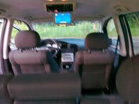 2003 Opel Zafira, is bagazines, interior
