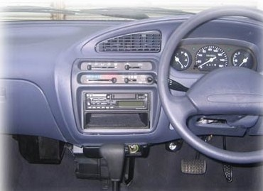 Picture of 2008 Daihatsu Cuore, interior