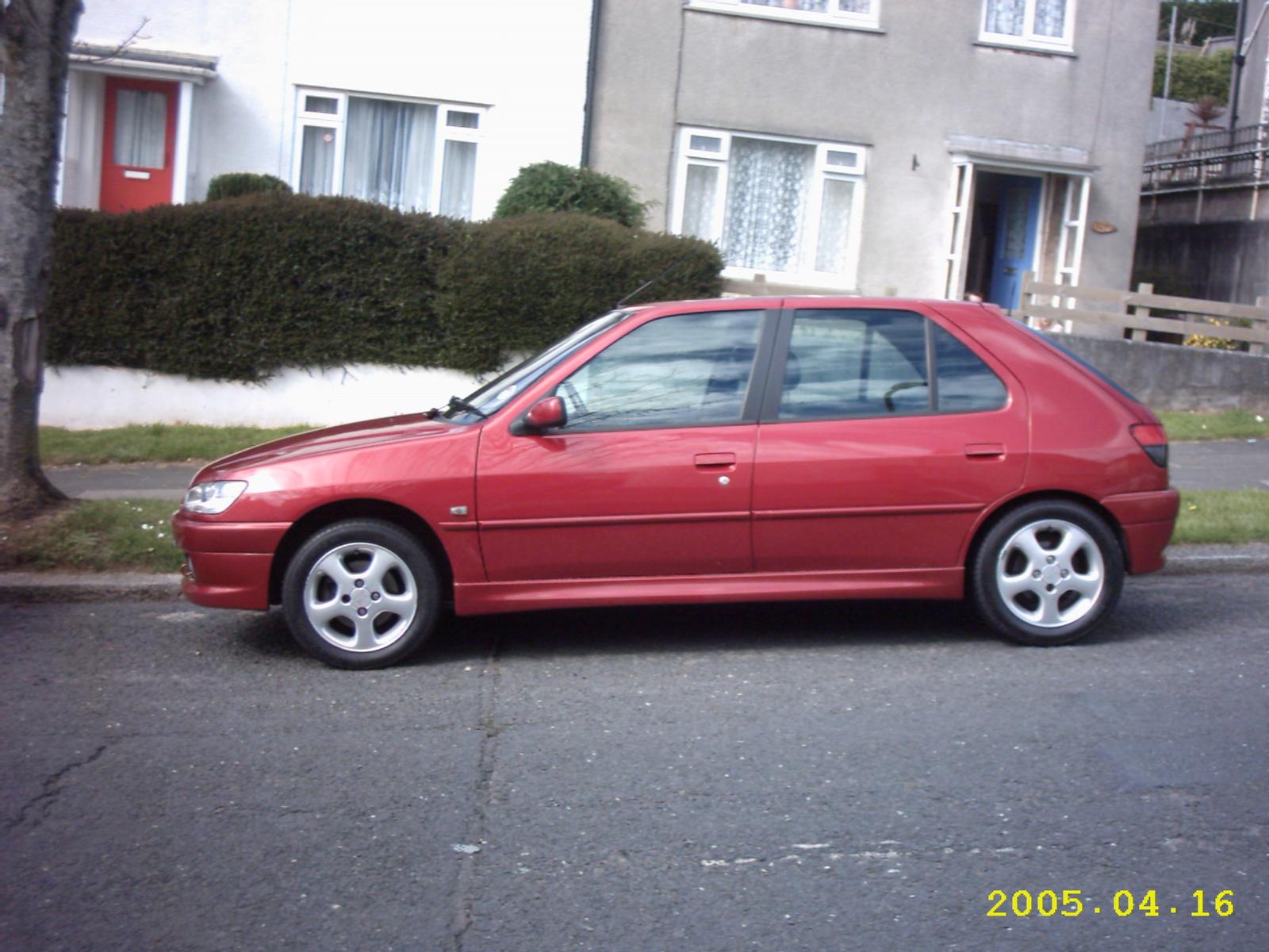peugeot 306 1 4 meridian 5 doors manual hatchback petrol 2001 x. Black Bedroom Furniture Sets. Home Design Ideas