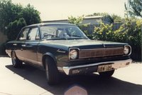 1967 AMC Rambler American, Not long after I got the car from my grandfather I had some disc brakes and a set of FATS! Fourteen-by-seven inch wheels with 235/60 Yokohama 352s. Yeah baby!, exterior, gal...