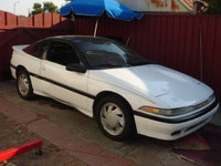 1991 Mitsubishi Eclipse GS Turbo, DSM, exterior