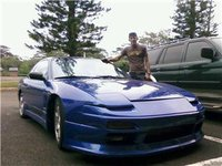 1991 Nissan 240SX 2 Dr LE Hatchback, miss the beast, exterior