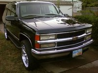 1997 Chevrolet Tahoe 4 Dr LT 4WD SUV, 97 tahoe on 24s, exterior