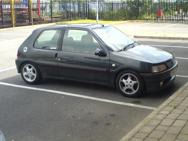 1993 Peugeot 106, i want  it back, exterior