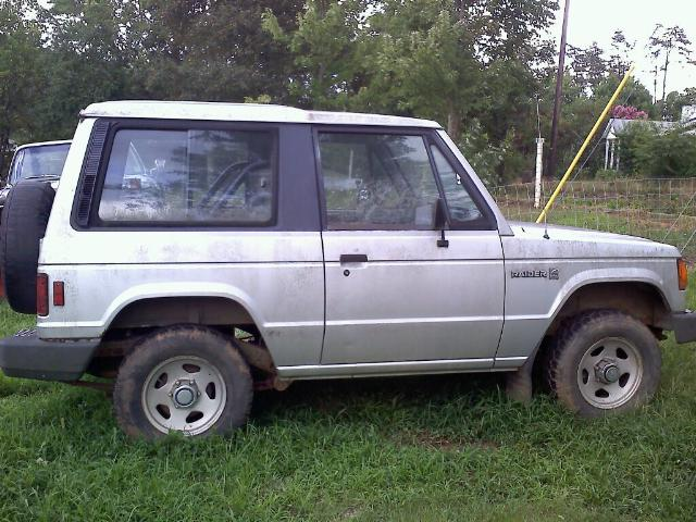 1987 Dodge Raider, Before, exterior