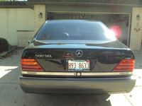 1993 Mercedes-Benz 500-Class 500SEL Sedan, Picture of 1993 Mercedes-Benz 500-Class 4 Dr 500SEL Sedan, exterior