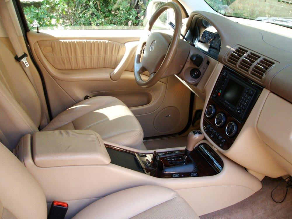 2002 mercedes benz m class interior pictures cargurus for Mercedes benz suv 2002
