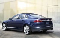 2011 Jaguar XF, back three quarter view , manufacturer, exterior