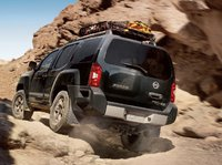 2011 Nissan Xterra, back three quarter view , exterior, manufacturer