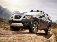 2011 Nissan Xterra, front three quarter view , manufacturer, exterior