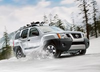 2011 Nissan Xterra, front three quarter view , exterior, manufacturer