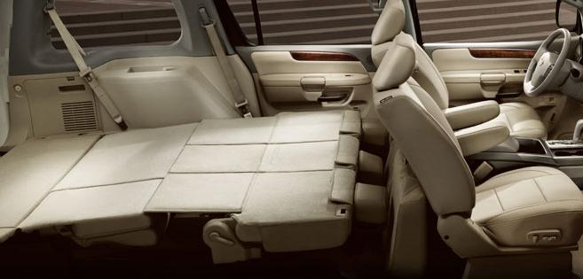 2007 nissan armada cargo space. Black Bedroom Furniture Sets. Home Design Ideas
