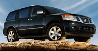 2011 Nissan Armada, front three quarter view, exterior, manufacturer