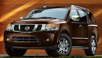 2011 Nissan Armada, front three quarter view , exterior, manufacturer