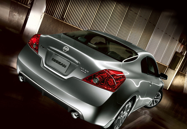 2011 Nissan Altima Coupe, back view, exterior, manufacturer
