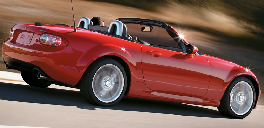 2011 Mazda MX-5 Miata, side view, exterior, manufacturer
