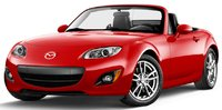 2011 Mazda MX-5 Miata, front three quarter view , exterior, manufacturer
