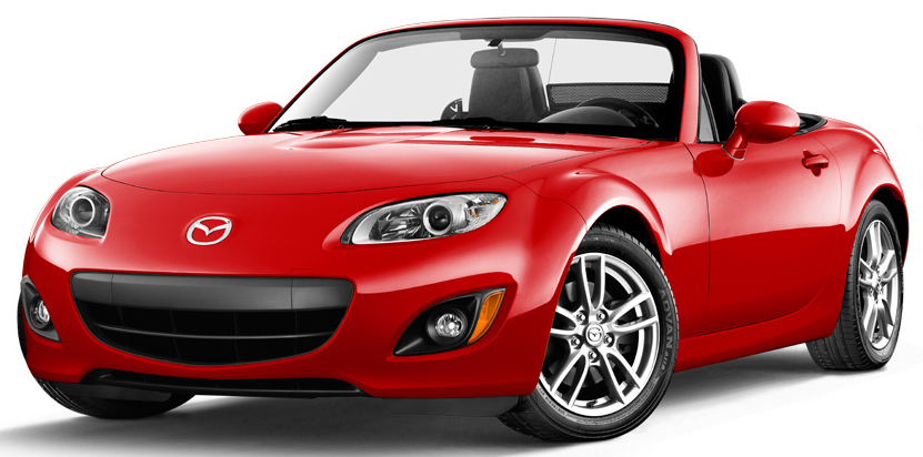 2011 Mazda MX-5 Miata, front three quarter view , manufacturer, exterior