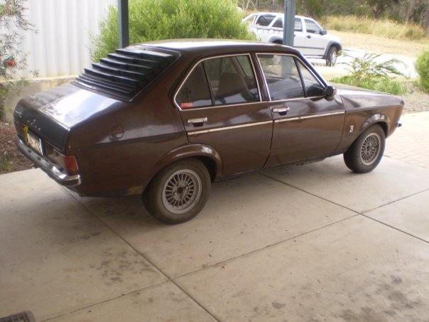 my 1977 mk2 ford escort i love it lol