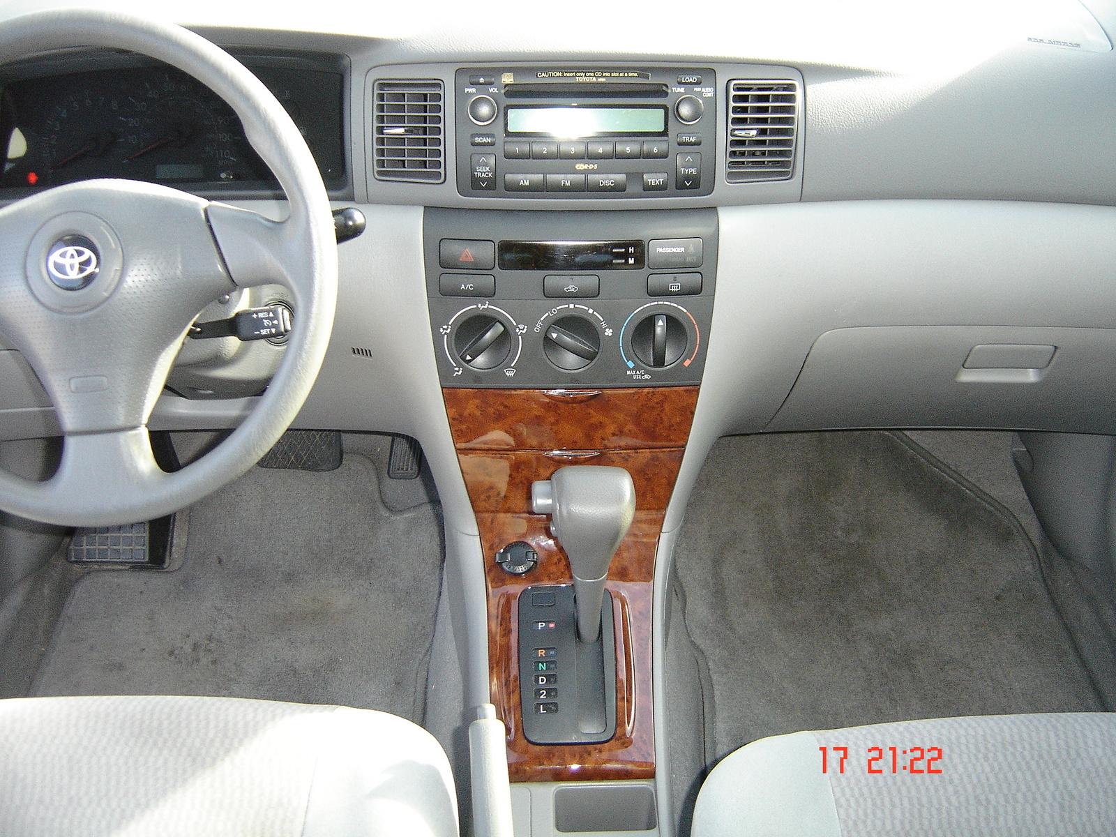 2007 Toyota Corolla Interior Pictures Cargurus