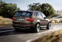 2011 BMW X5 xDrive35i, back three quarter view , exterior, manufacturer