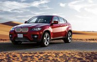 2011 BMW X6 xDrive50i, front three quarter view , manufacturer, exterior
