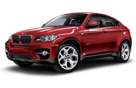 2011 BMW X6 xDrive50i, front three quarter view , exterior, manufacturer