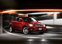 2011 BMW X6, front three quarter view , manufacturer, exterior