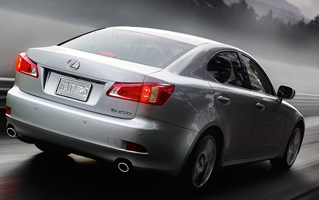 2011 Lexus IS 250, back three quarter view , manufacturer, exterior