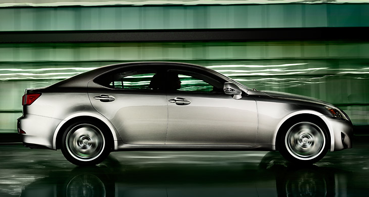 2011 Lexus IS 250, side view , exterior, manufacturer
