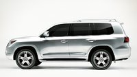 2011 Lexus LX 570, side view , exterior, manufacturer
