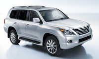 2011 Lexus LX 570, front three quarter view , manufacturer, exterior
