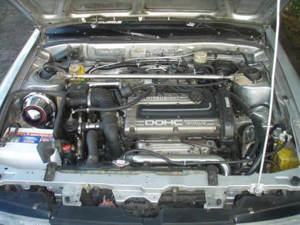 1989 Mitsubishi Galant, 4g63T Got booooooooost!, engine, gallery_worthy