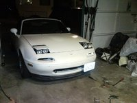1994 Mazda MX-5 Miata M-Edition, Low profile headlights Installed -10/12/10, exterior