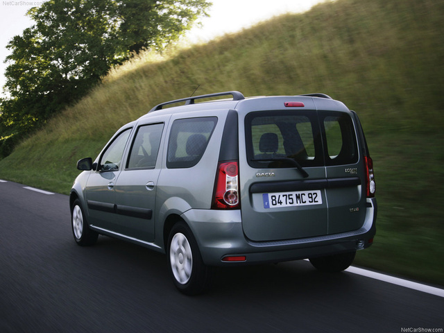 2007 Dacia Logan, Lovely backside , exterior
