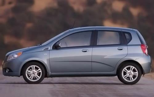 2011 Chevrolet Aveo, Left Side View, manufacturer, exterior