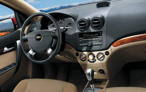 2011 Chevrolet Aveo, Interior View, manufacturer, interior