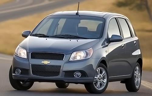 2011 Chevrolet Aveo, Front Left Quarter View, exterior, manufacturer