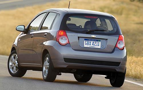 2011 Chevrolet Aveo, Back Left Quarter View, interior, manufacturer