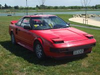 1984 Toyota MR2, Roxie at the Pegasus, with MR2Owners Club. (1710/10), exterior