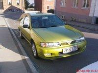 1998 Nissan Almera, Smedens nye skidegrønne Nissan ;-), exterior