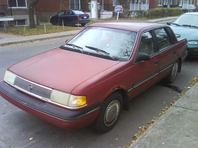 Picture of 1991 Mercury Topaz GS Sedan FWD, exterior, gallery_worthy