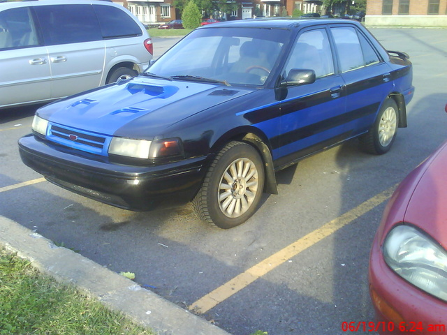 Picture of 1990 Mazda Protege 4 Dr STD 4WD Sedan