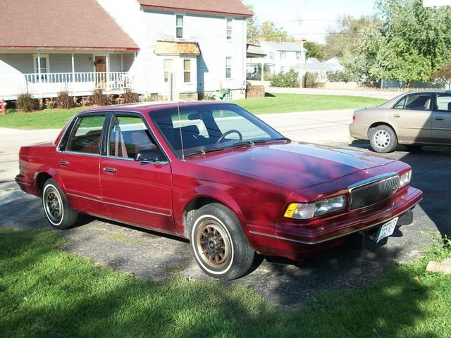 The new car. 1995 Buick Centry