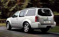 2011 Nissan Pathfinder, back three quarter view , manufacturer, exterior