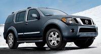2011 Nissan Pathfinder, front three quarter view , exterior, manufacturer