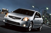 2011 Nissan Sentra, front view , exterior, manufacturer
